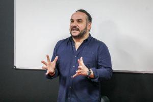 Visite de François-Xavier DEMAISON,  parrain de la promotion 2019